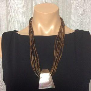 Jewelry - Unique Brown Necklace